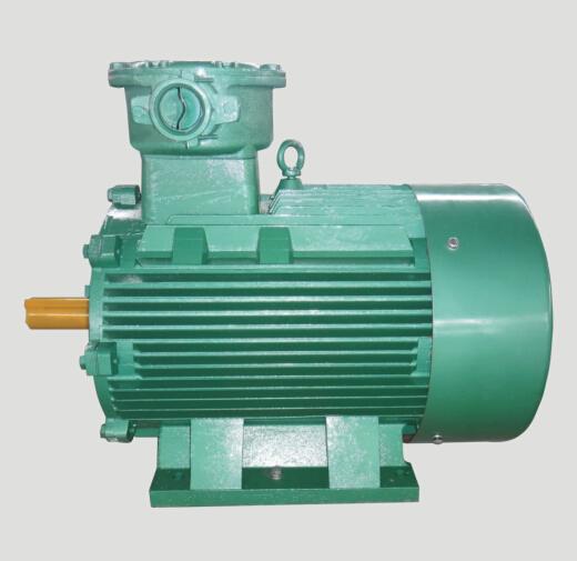 陕西榆林客户订购YBK2型防爆电机8台
