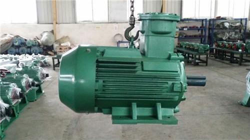 山西长治客户订购YBX3型防爆电机6台